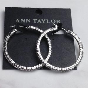 Ann Taylor Hoop Earrings